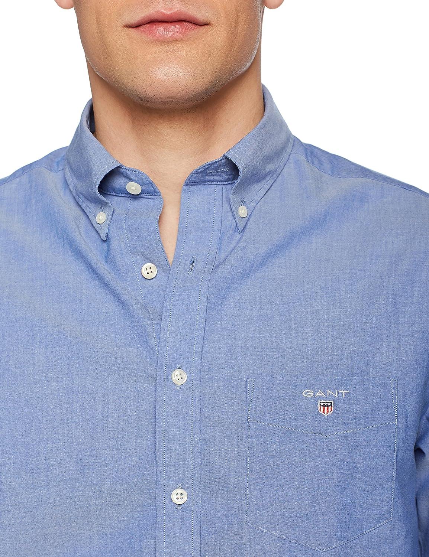 Gant The Broadcloth Reg BD Camiseta Deporte para Hombre