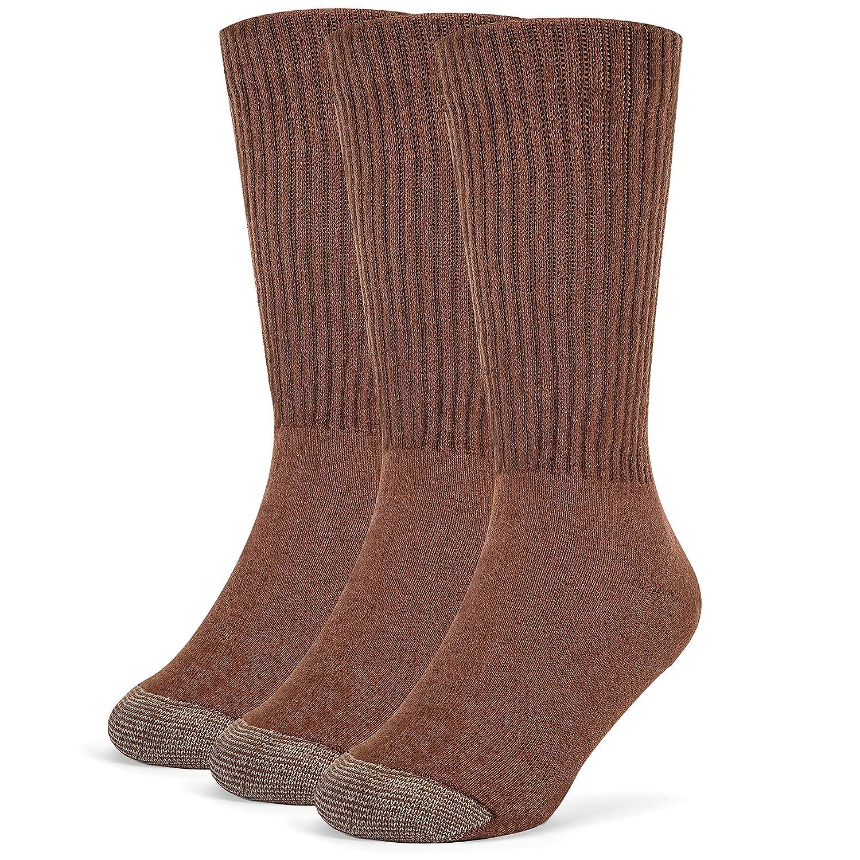 Galiva Boys' Cotton Extra Soft Crew Cushion Socks - 3 Pairs GL219
