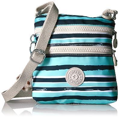 89491b38ec Kipling Alvar Xs Mini Printed Crossbody Bag, Spectacle Stripe: Handbags:  Amazon.com