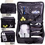 Athletico Golf Trunk Organizer Storage - Car Golf Locker to Store Golf Accessories   Collapsible When Not in Use