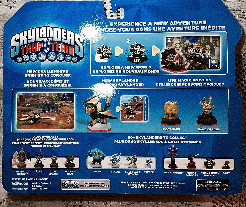 Skylanders Trap Team Exclusive Legendary Adventure Pack - Nightmare Express, Legendary Blades, Piggy Bank and Hand of Fate [Not Machine Specific] [Importación Inglesa]: Amazon.es: Videojuegos