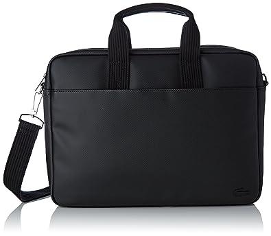 cc3f12275d Lacoste Sac Homme Access Premium, Ordinateur, Noir (Black), 29x7.5x39