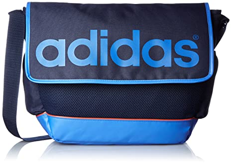 aedbadf9df Image Unavailable. Image not available for. Colour  Adidas Polyester 16  Ltrs Conavy Messenger Bag ...