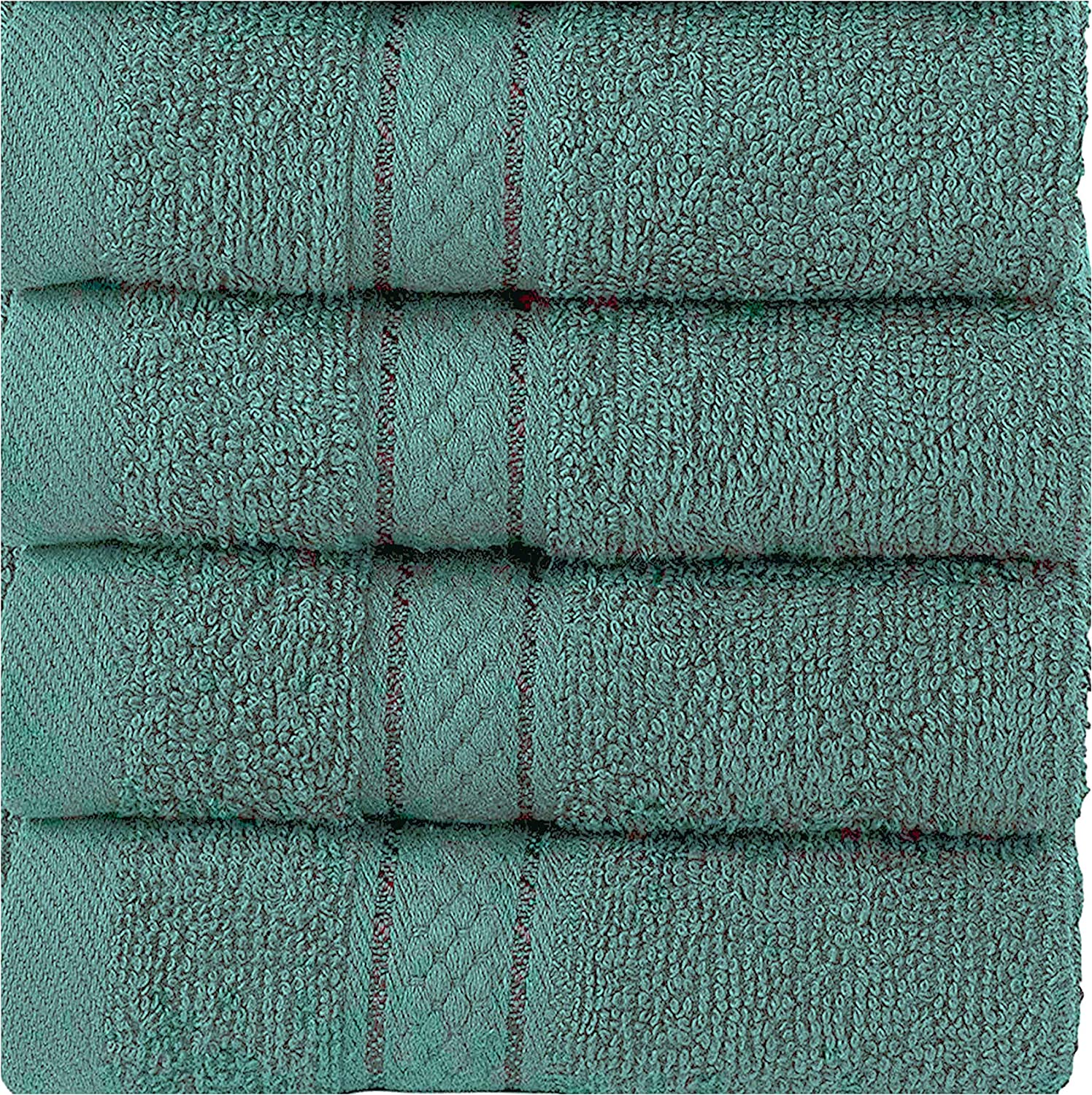 Hand Face Gym and Spa Highly Absorbent Quick Drying Hand Towels 6-Pack White Wholesale Cotton Hand Towels Easy Care Multipurpose Use for Bath
