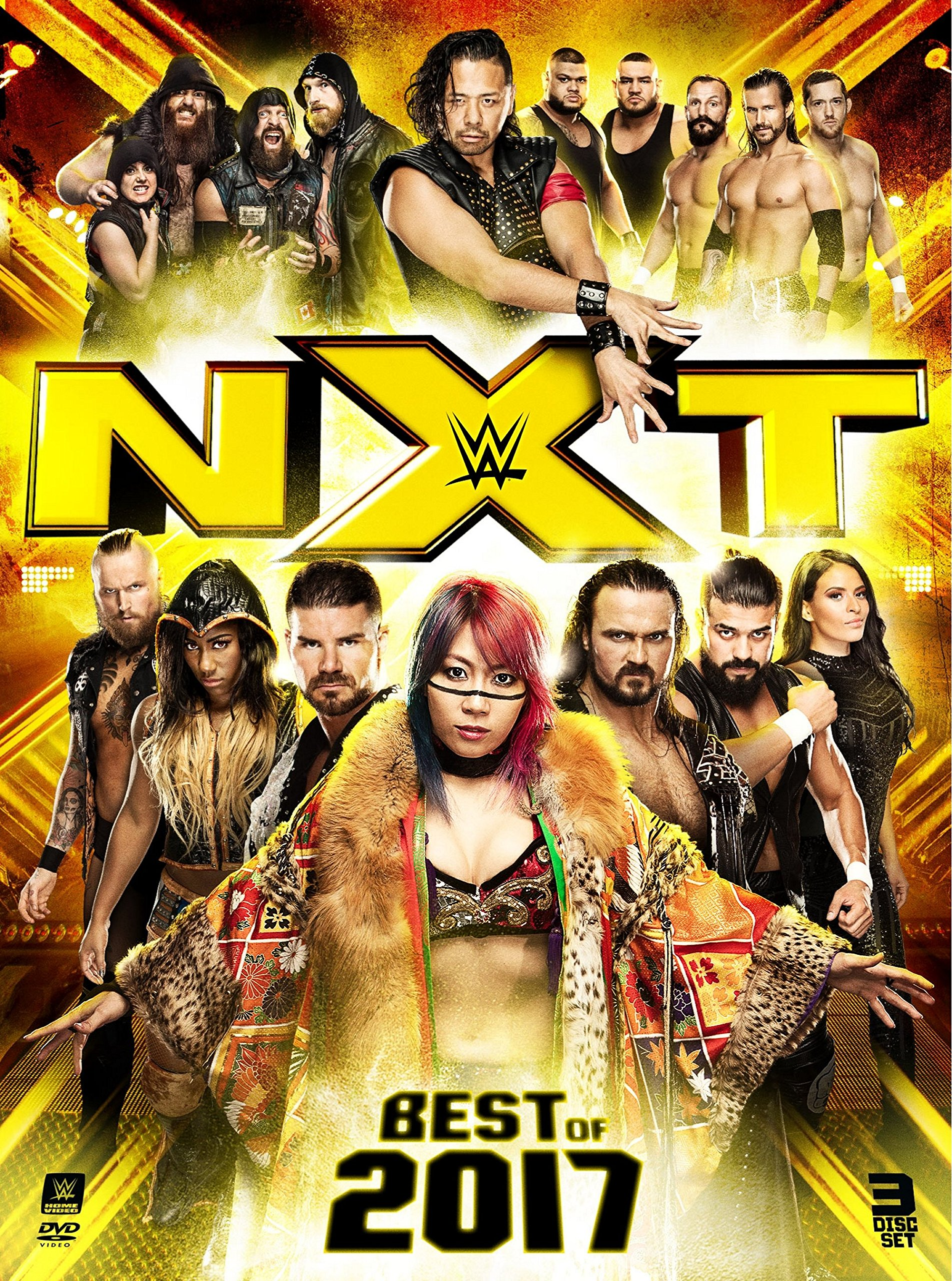Book Cover: WWE: Best of NXT 2017