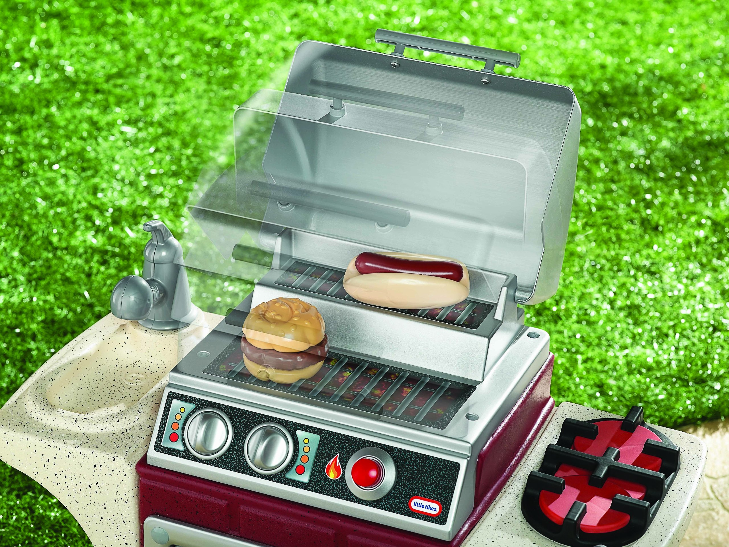 Little Tikes Backyard Barbeque Get Out 'N Grill by Little Tikes (Image #3)