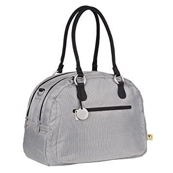 730b2f6f4ca3 Lassig Bowler Style Diaper Shoulder Bag Handbag Tote-Bag includes Matching  Insulated Bottle Holder,...