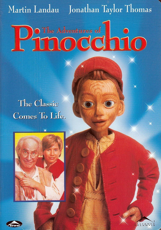 Amazon.com: The Adventures Of Pinocchio: Martin Landau, Jonathan ...
