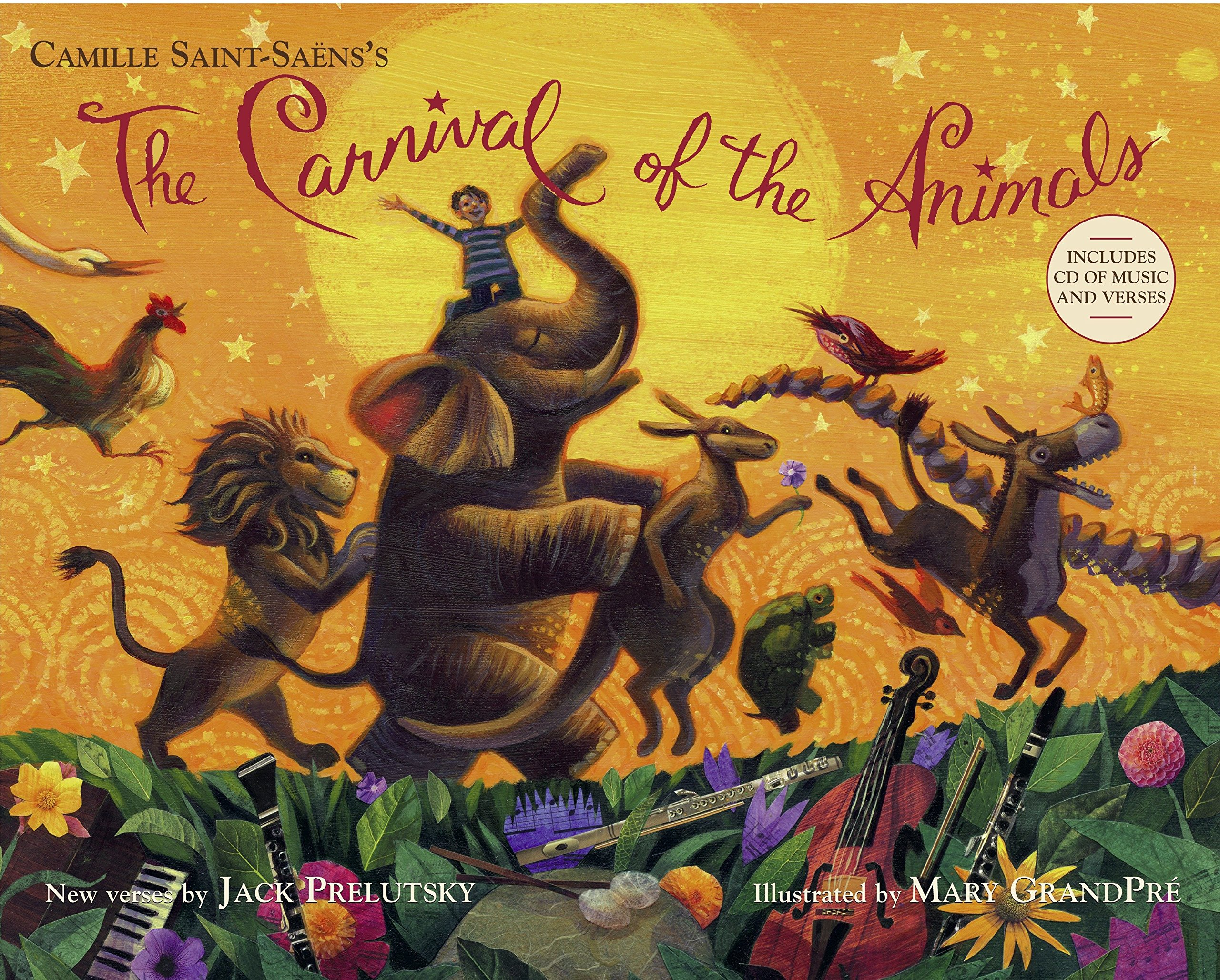 The Carnival of the Animals (Book & CD): Jack Prelutsky
