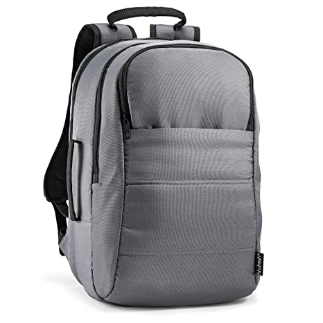 97b57d3d79ce Fit & Fresh Laptop Backpack with Padded Sleeve for Laptop or Tablet, Large  Storage Area, Zippered Pockets, Universal Size Fits 15.6 inch Laptops, for  ...