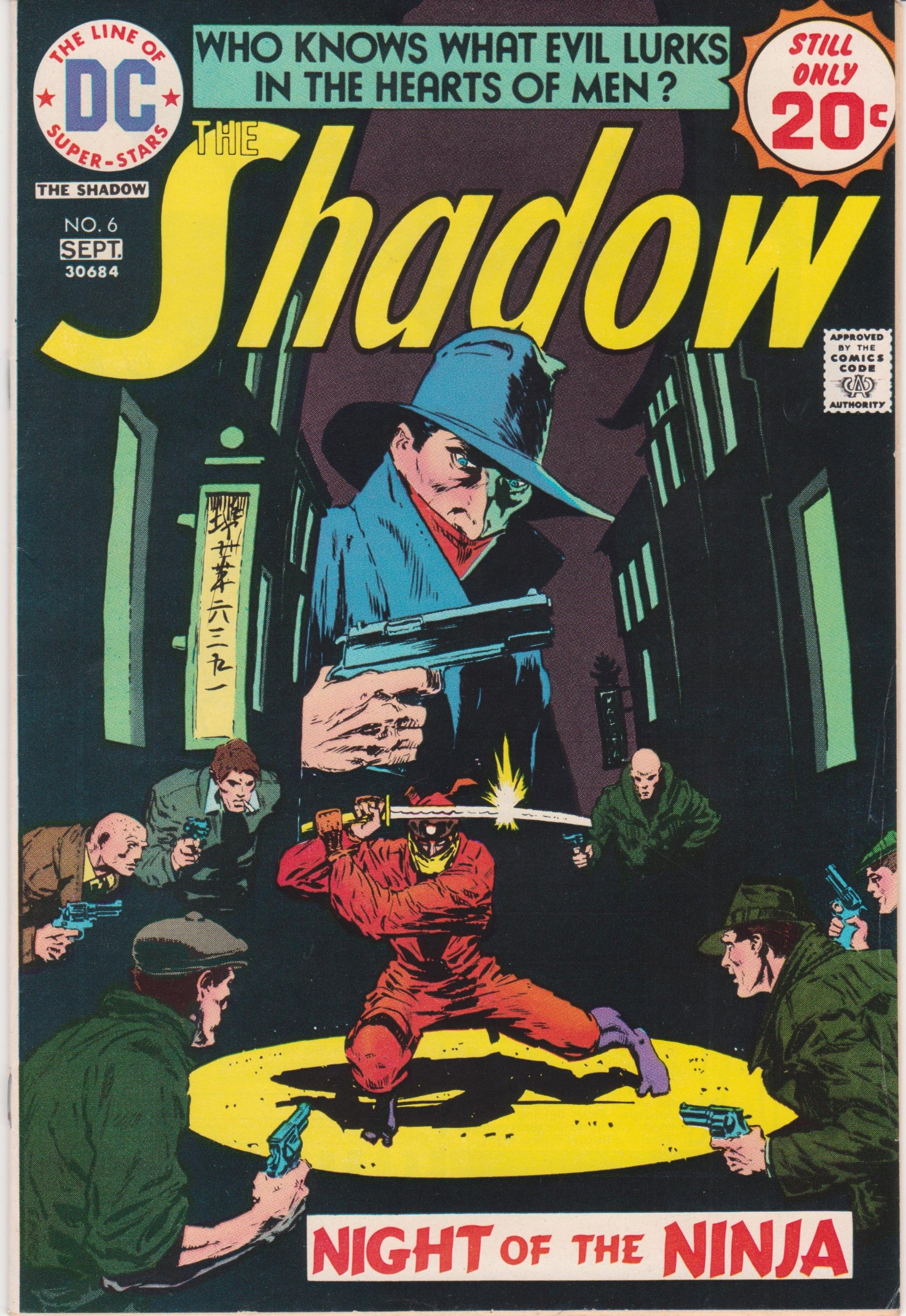 Amazon.com: The Shadow #6 August / September 1974 DC Comics ...