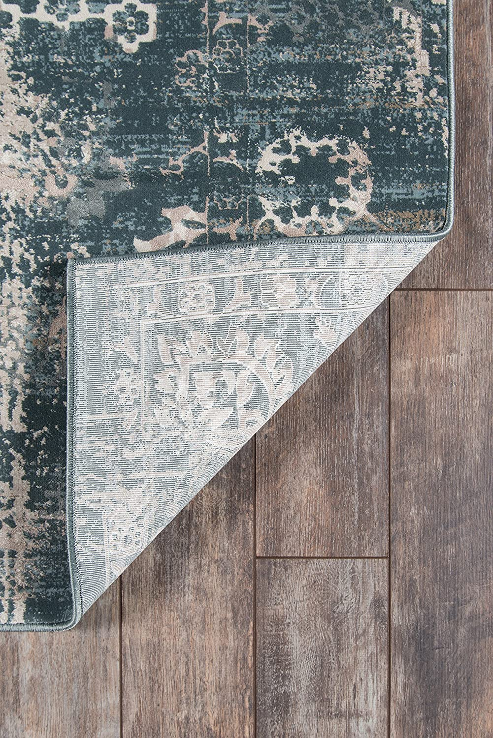 23 x 76 Charcoal 2/'3 x 7/'6 Inc. Momeni Rugs JULIEJU-01CHR2376 Juliet Collection Transitional Area Rug