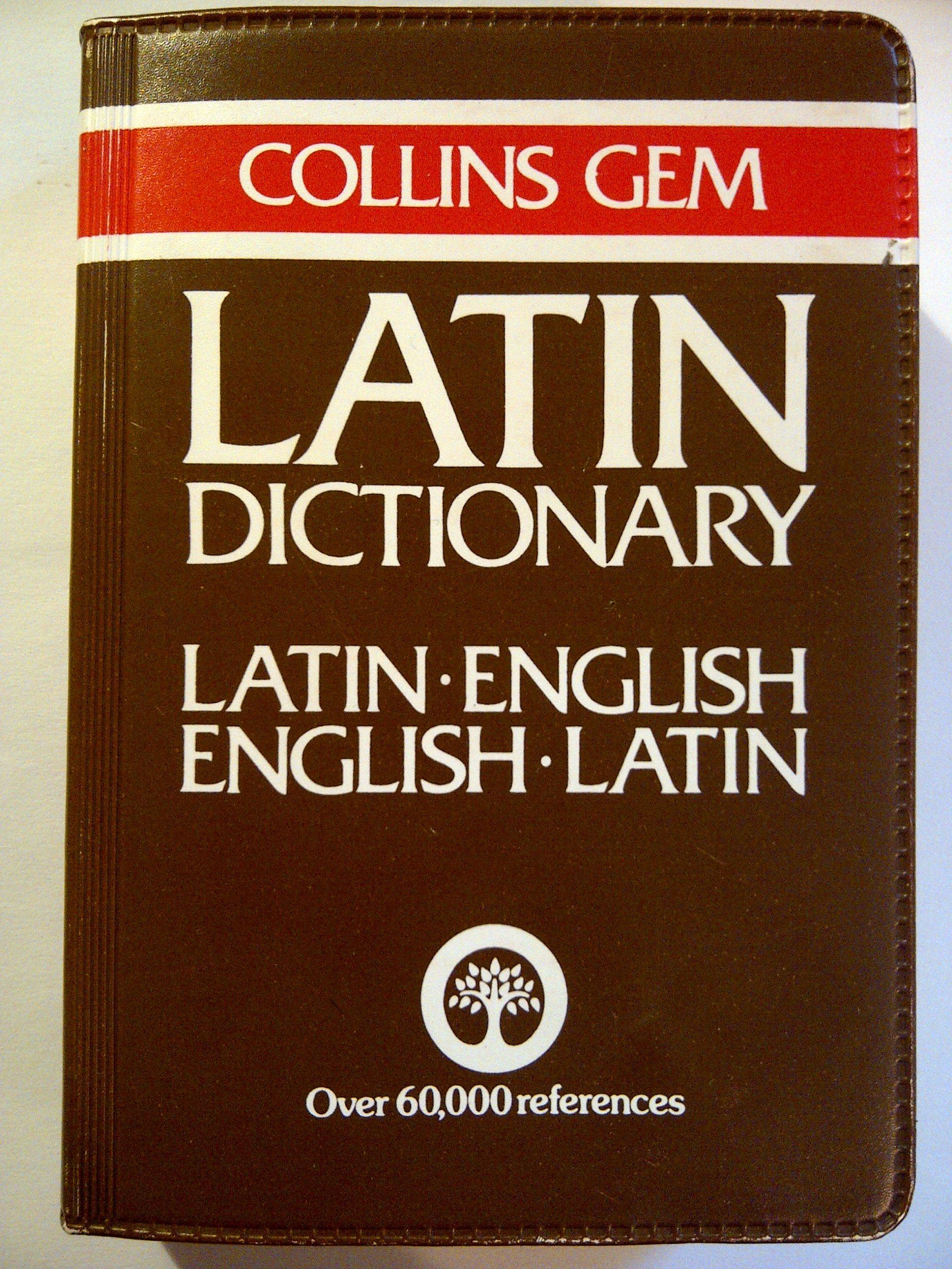 Collins Gem Dictionary: Latin-English, English Latin: D. A. Kidd:  9780004586441: Amazon.com: Books