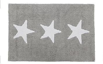 Happy Decor Kids HDK-229 - Alfombra lavable, color gris: Amazon.es ...