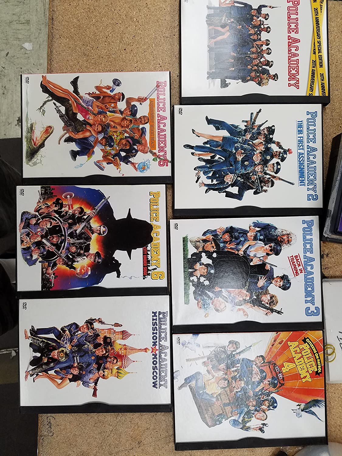 Police Academy - The Complete Collection B0001907DA