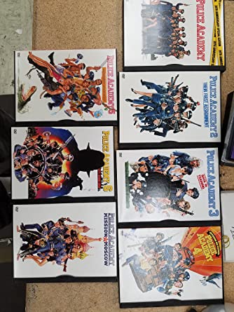 Amazon Com Police Academy The Complete Collection Bubba Smith