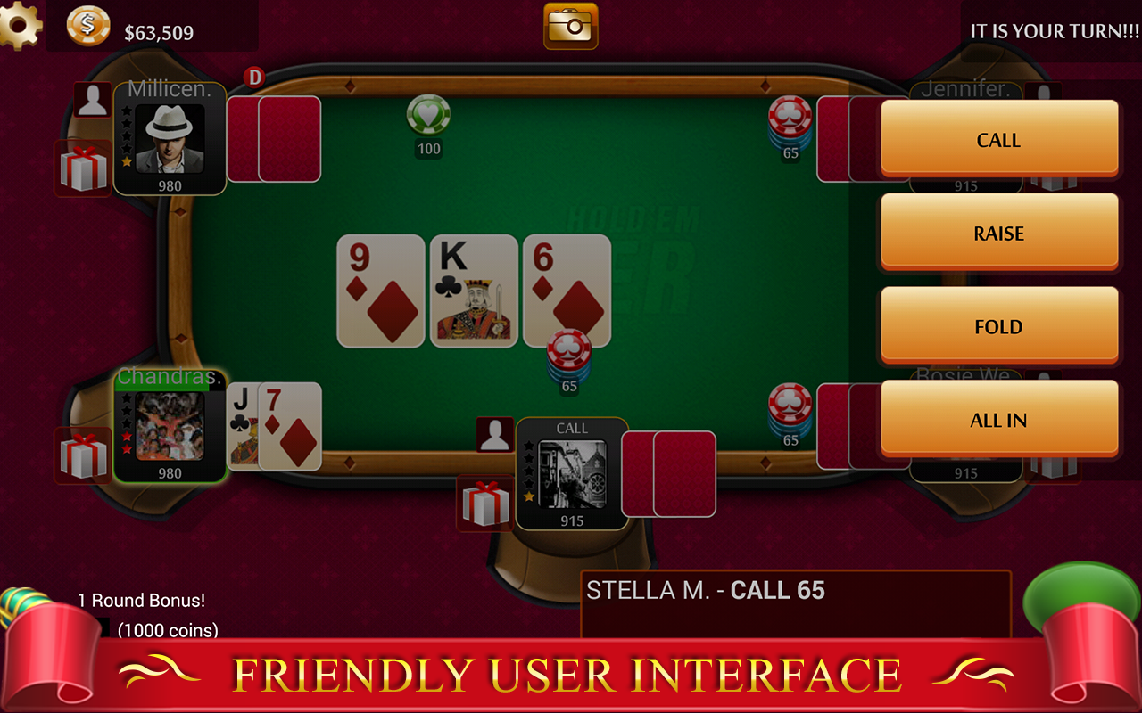 texas hold em android