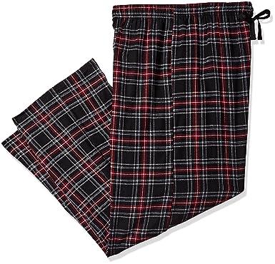 9279da82bf Hanes Men s Ultimate Big Flannel Pant Pajama Bottom  Amazon.co.uk  Clothing