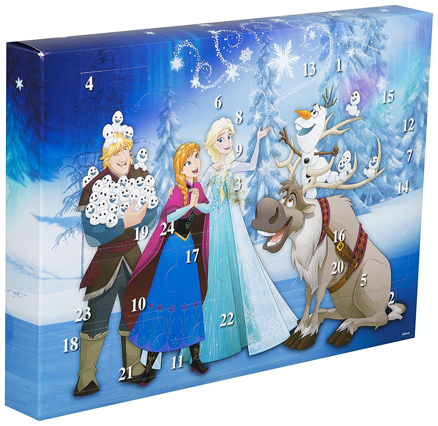 Disney Frozen DFR15-6382 Advent Calendar, Multicolour Sambro