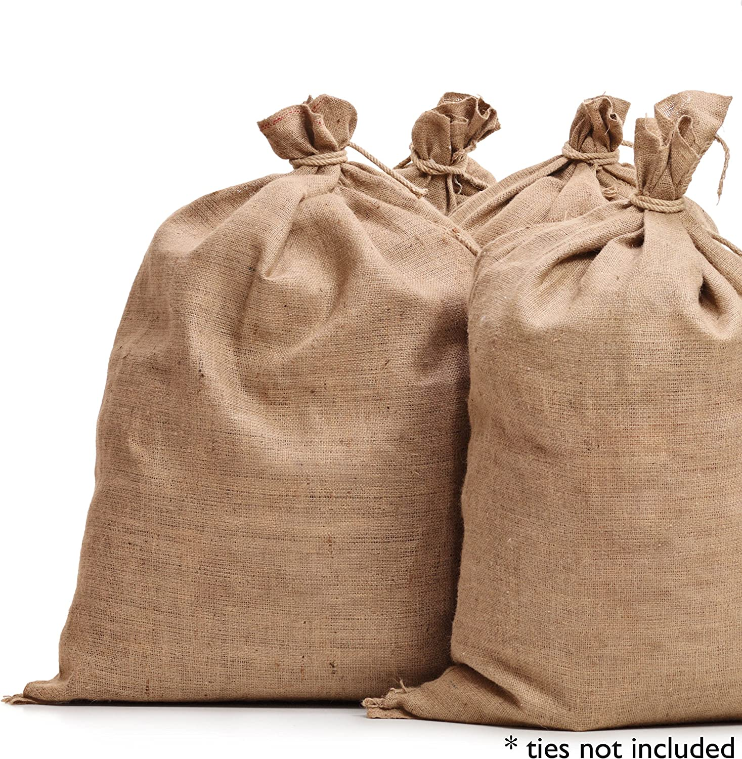 "Burlap Bags 22"" x 36"" - Great for Planting/Gardening - Kids Sack Bag - Sacks Burlap by Sandbaggy (Pack of 10)"