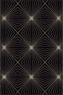 "product image for Orian Rugs 2002 Nuance Twilight Area Rug 5'3"" x 7'6"" Black"