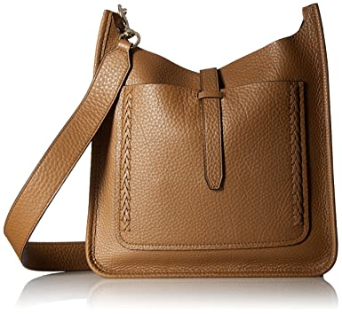 aee253ca8 Amazon.com: Rebecca Minkoff Unlined Feed Bag with Whipstich, Almond ...