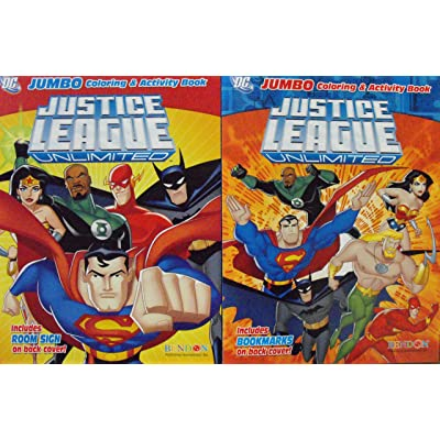 Justice League Coloring and Activity Books. 1 Book: Toys & Games