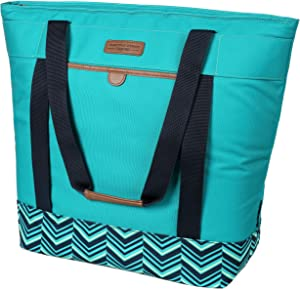 Arctic Zone 2010IL008987 Jumbo Hot/Cold Insulated Food Carrier, Teal