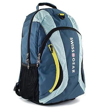 Swiss Gear mercurio mochila para ordenador portátil de 16, color azul oscuro: Amazon.es: Informática
