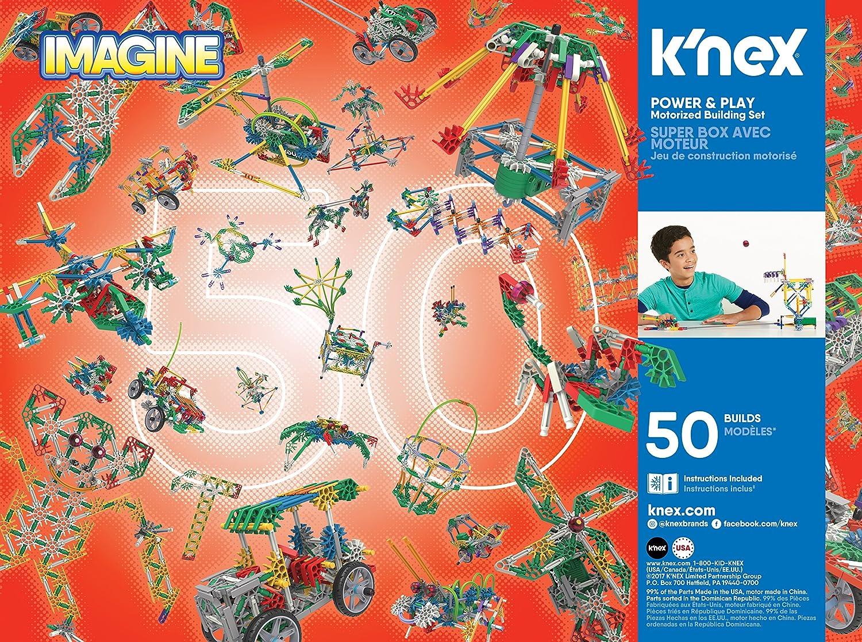 KNEX IMAGINE POWER /& PLAY MOTORIZED BUILDING SET