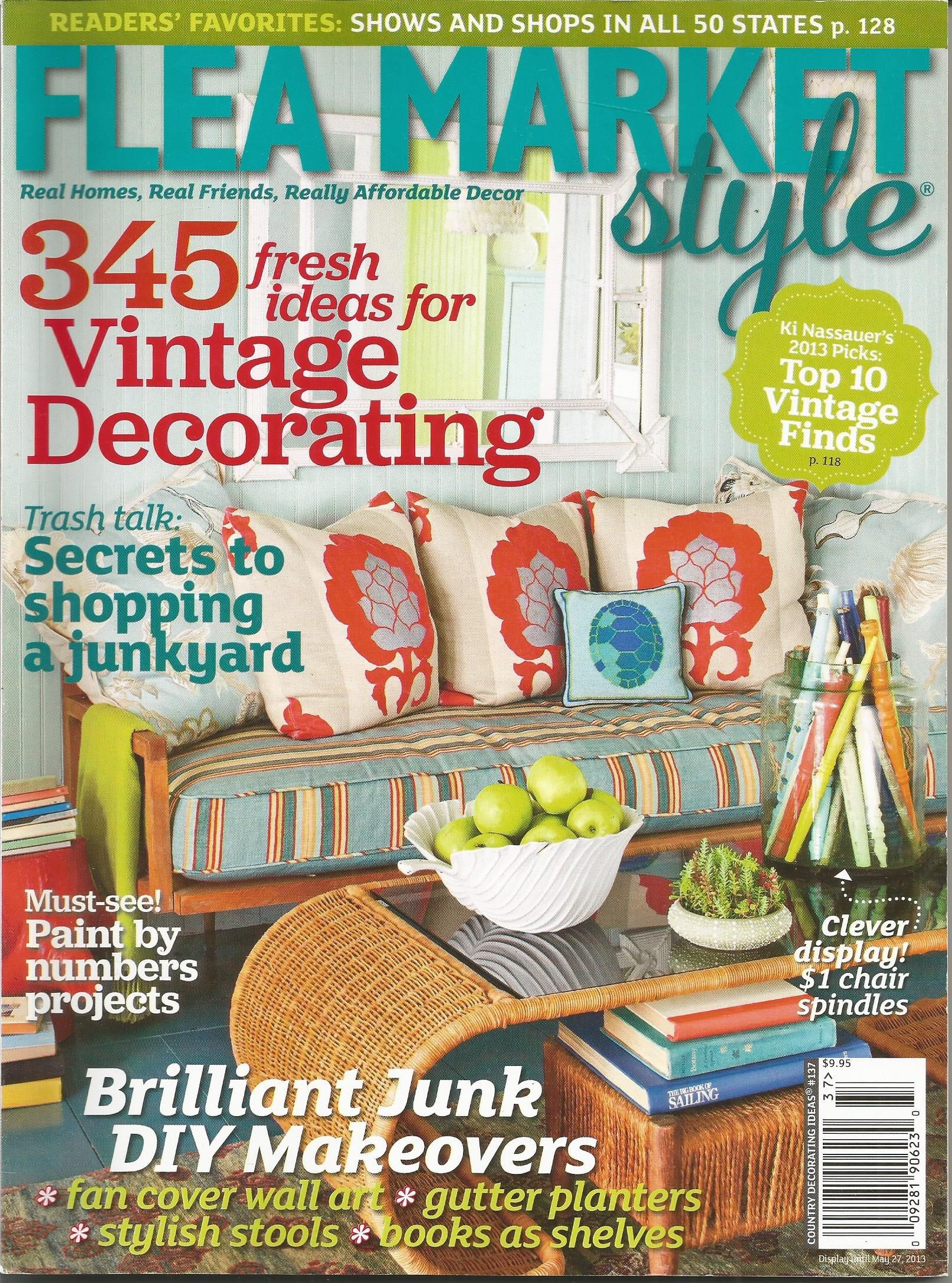 Flea Market Style Magazine Country Decorating Ideas #137: Ki ...