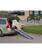 Aluminium Teleskop Hunderampe Einstiegshilfe für Haustiere