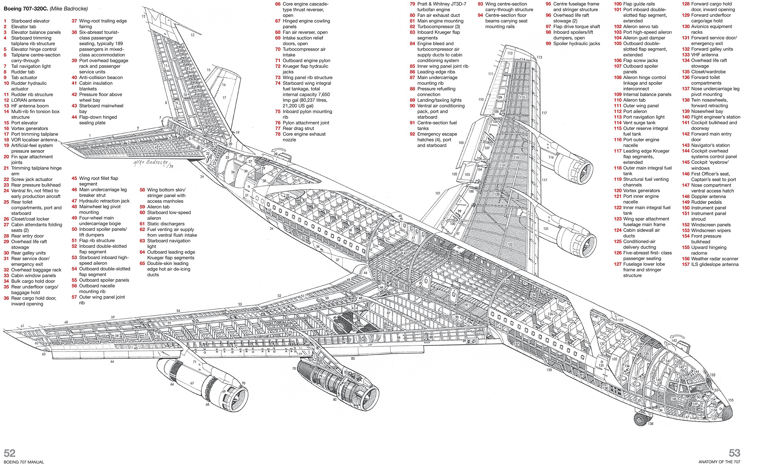 boeing 707 wiring diagram manuals
