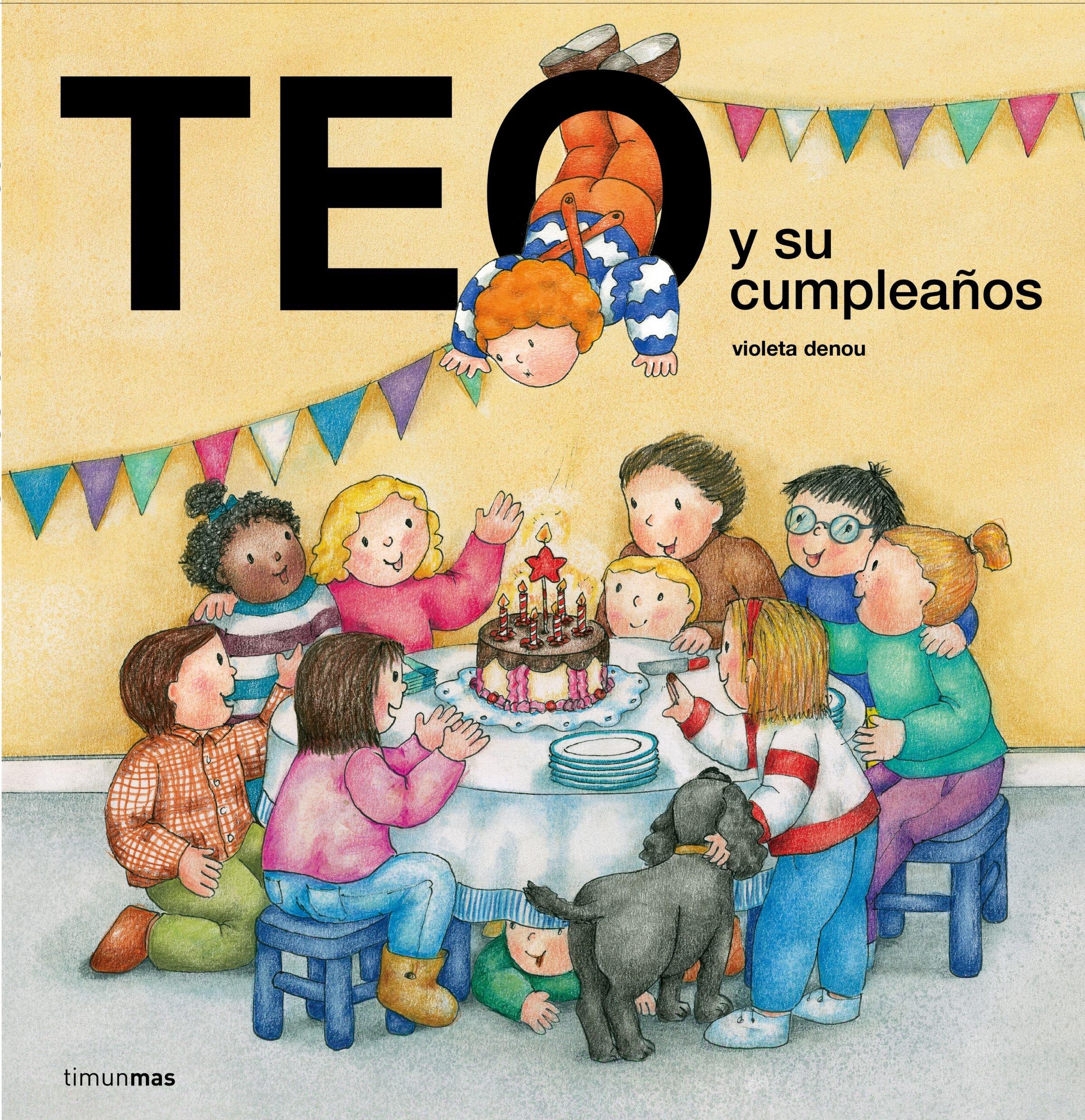 Teo y su cumpleaños (Teo descubre el mundo): Amazon.es ...