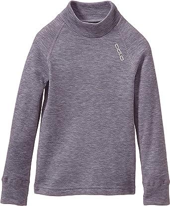 Odlo Unisex Kinder Bl Top Crew Neck L//S Active Warm Originals Unterhemd