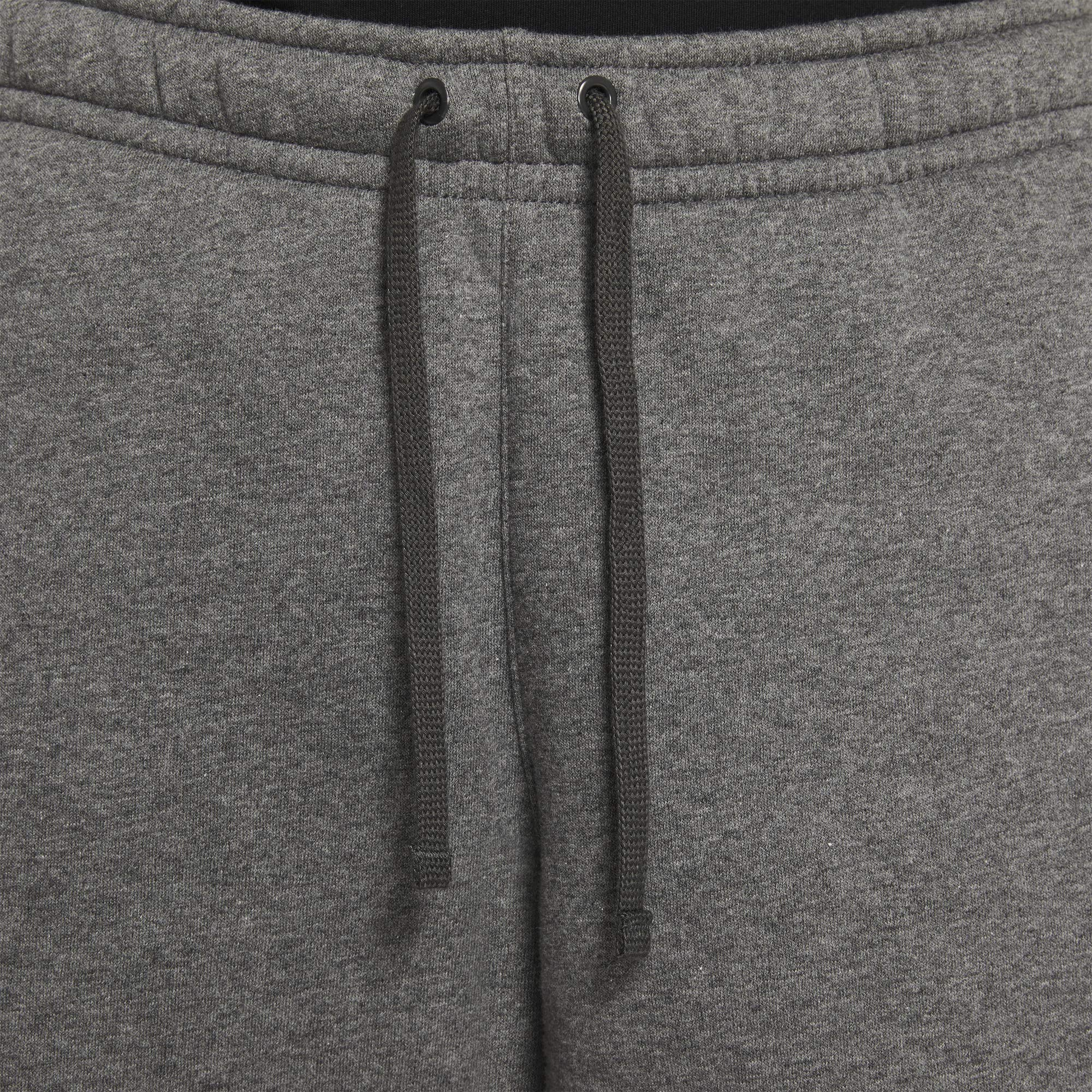 Nike Men's Sportwear Club Shorts, Charcoal Heather/Black, Small by Nike