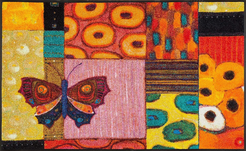 Dry Le essuie-pieds Polyester-  Multicolore -50 x 75 cm Wash