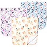 """Baby Burp Cloth Large 21''x10'' Size Premium Absorbent Triple Layer 3-Pack Gift Set """"Morgan"""" by Copper Pearl …"""