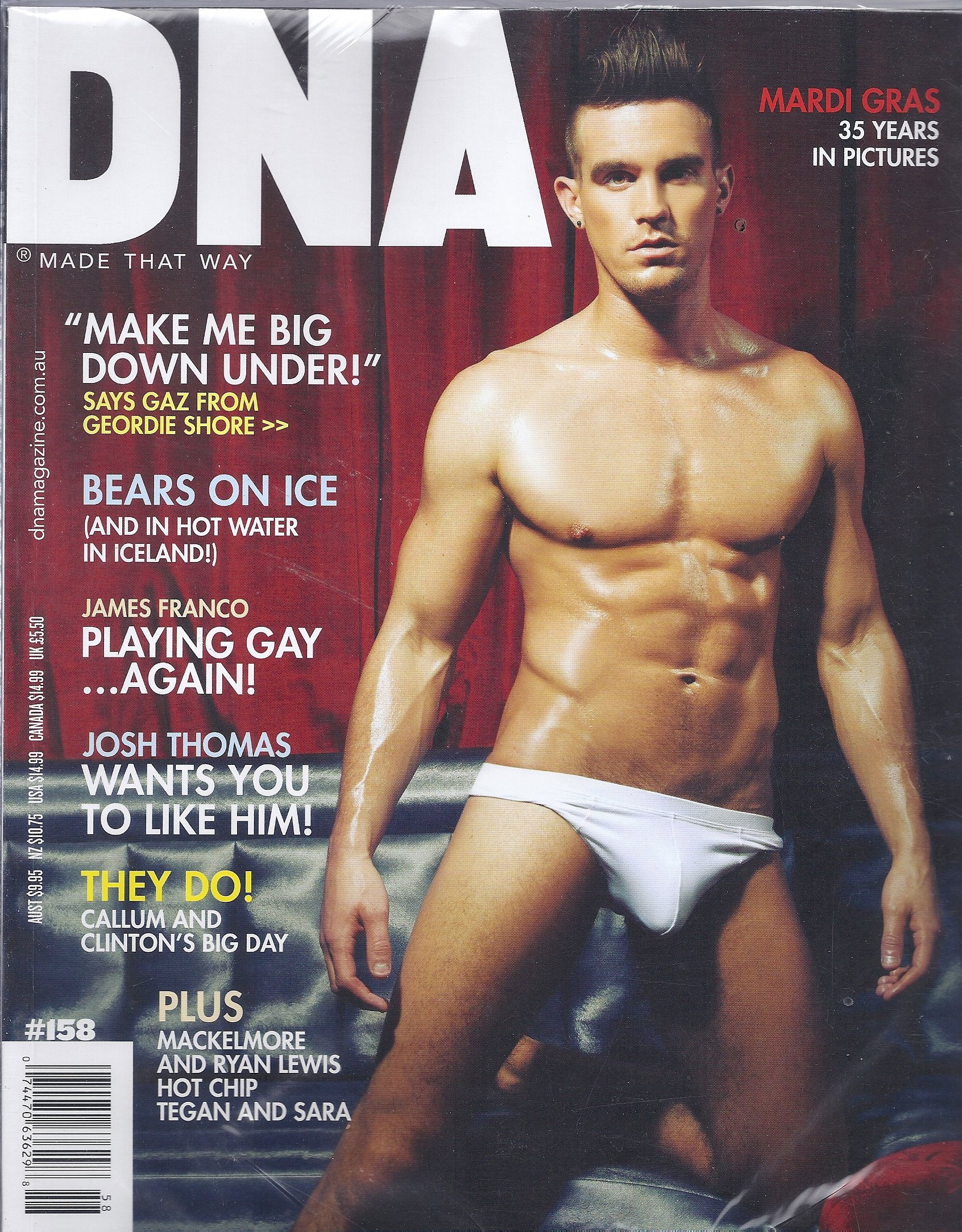 Download DNA Magazine # 158 (2013,Mardi Gras,James Franco) pdf