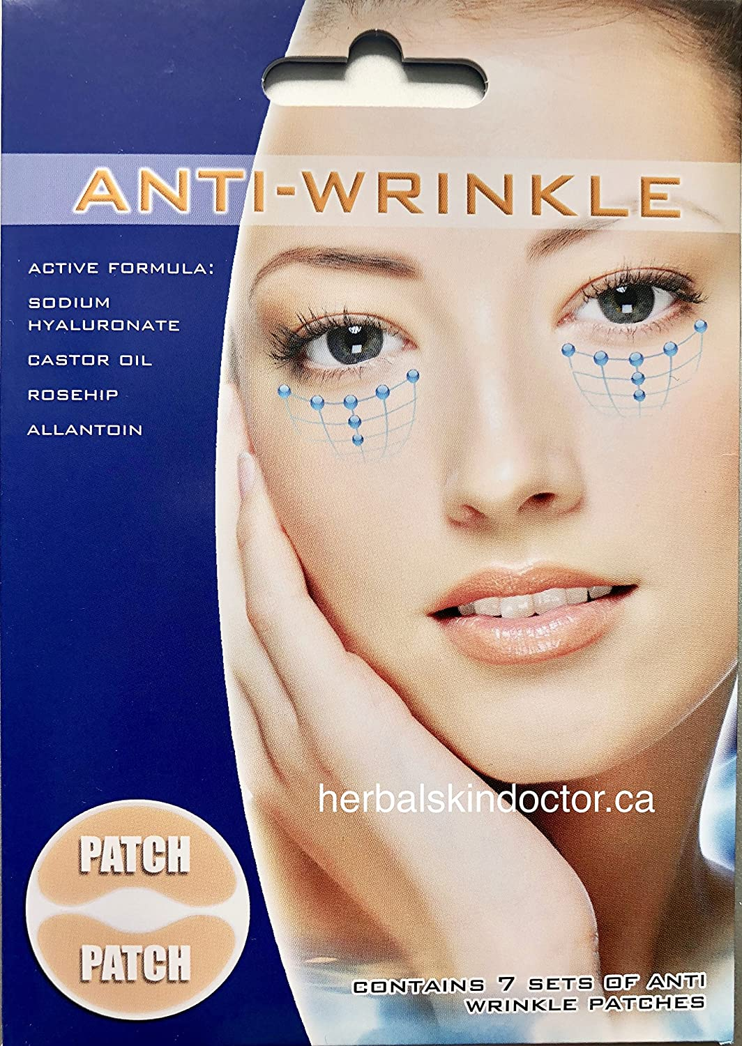 Hyaluronic Acid Anti-Wrinkle Eye Patches - Made in the UK Montagne Jeunesse