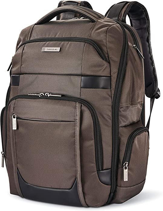 Samsonite Tectonic Lifestyle Sweetwater Business Backpack, Iron Grey, One Size
