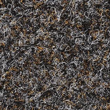 verschiedene L/ängen BODENMEISTER BM73501 Teppichboden Nadelfilz Nadelvlies Meterware Objekt braun beige 200 cm und 400 cm breit Variante 2 x 2 m