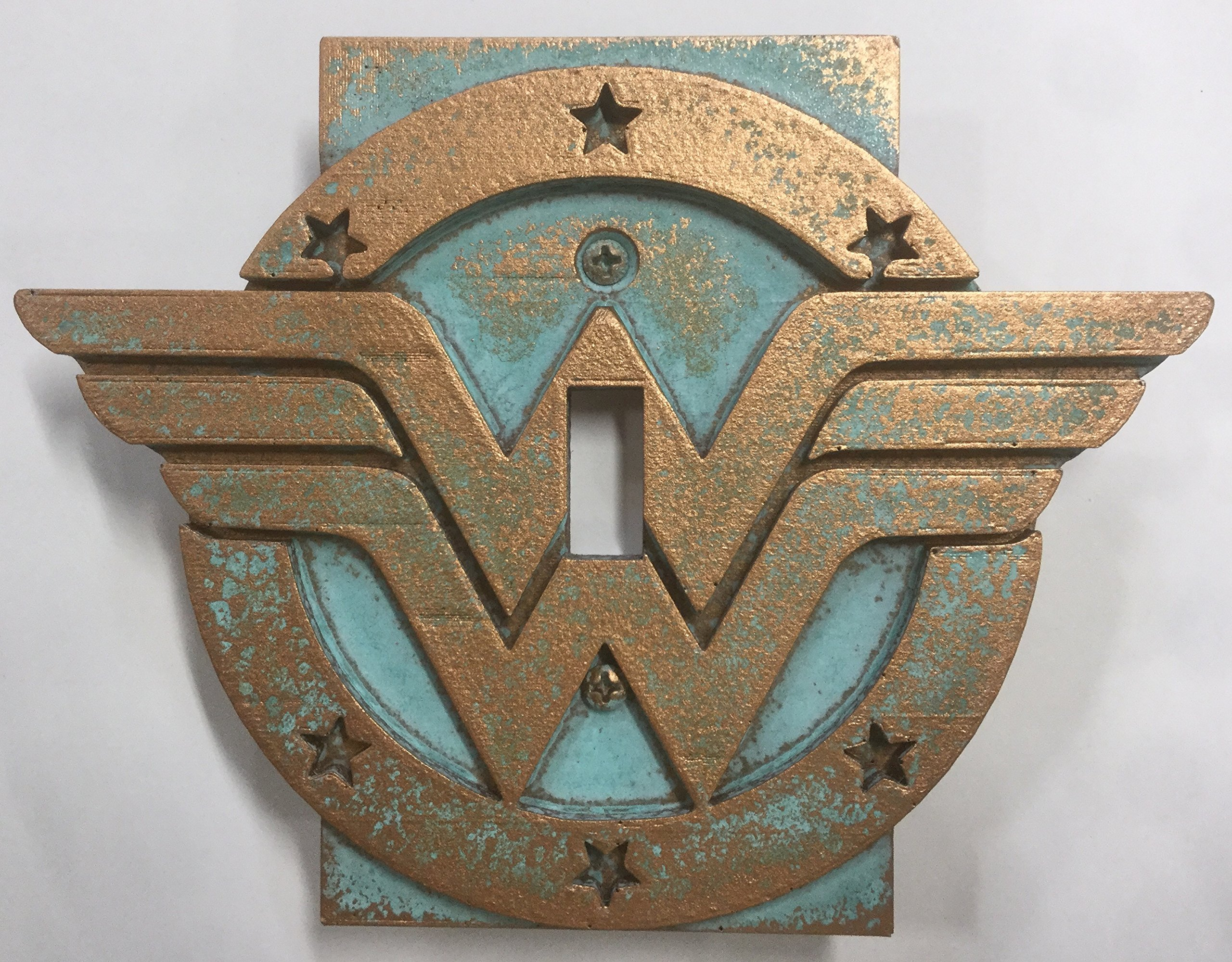 Wonder Woman - Light Switch Cover (Aged Patina) by Sci-Collectables