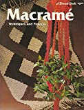 Macrame: Techniques and Projects (A Sunset Book)