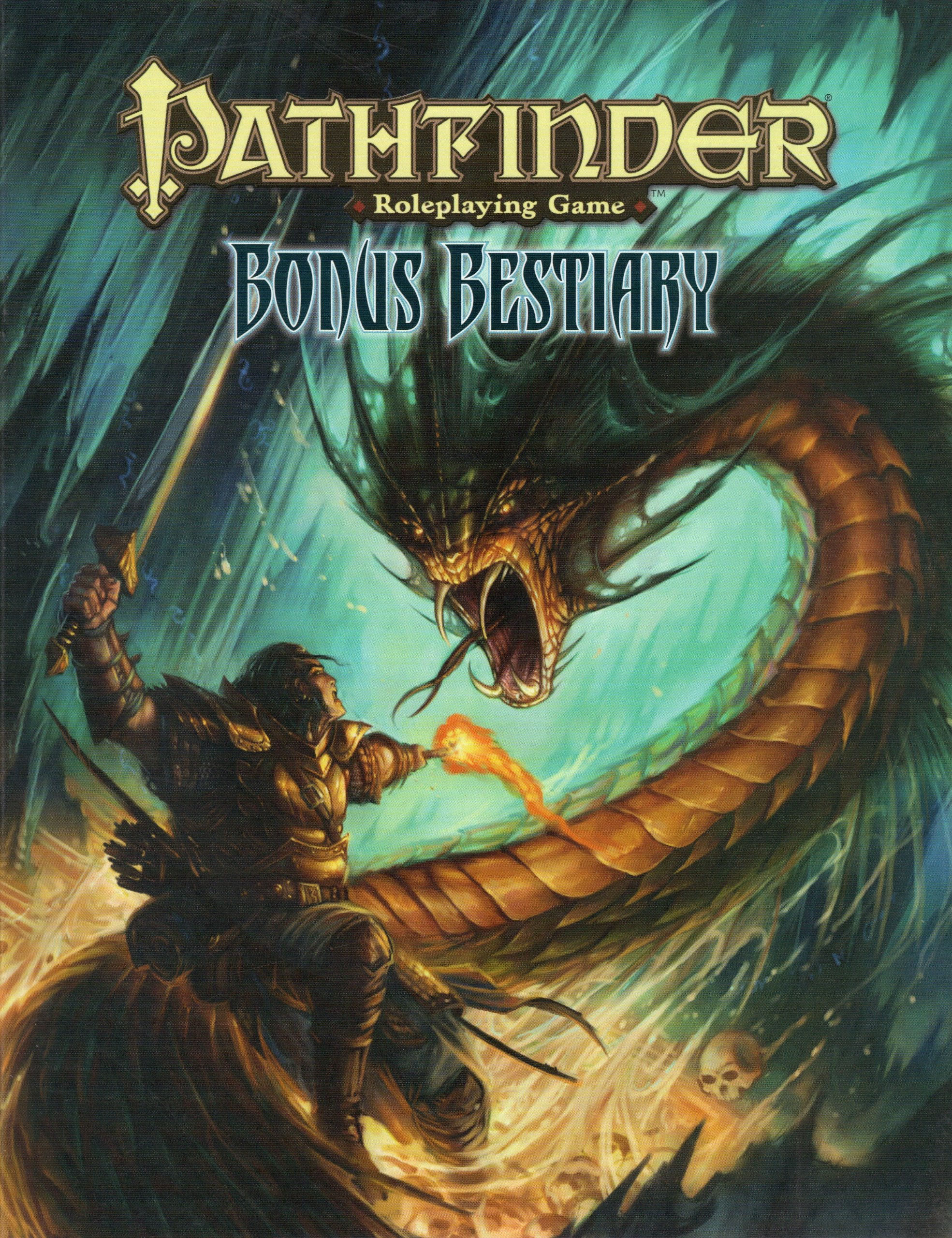 Pathfinder Roleplaying Game: Bonus Bestiary