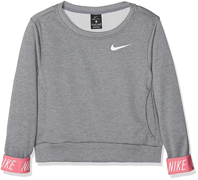 discount shop uk availability look for Nike Mädchen G Nk Dry Po Studio Pullover