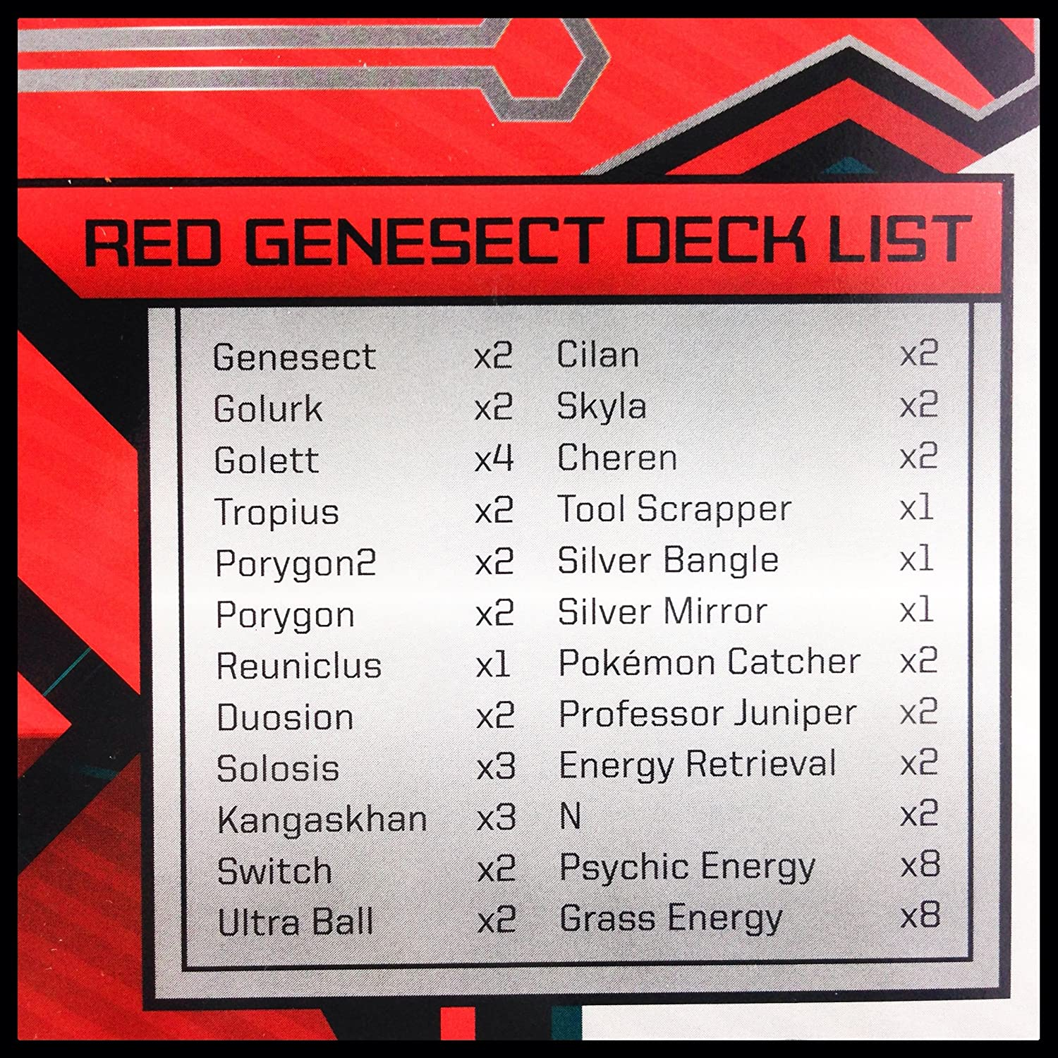 POKEMON PSYCHIC ENERGY HOLO REV HOLO FROM THE RED GENESECT BOX