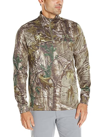 4c62798541ea5 Amazon.com : Under Armour Men's Franchise Camo 1/4 Zip Top : Clothing