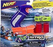 Nerf Lanzador Nitro Throttleshot Blitz, Color Azul