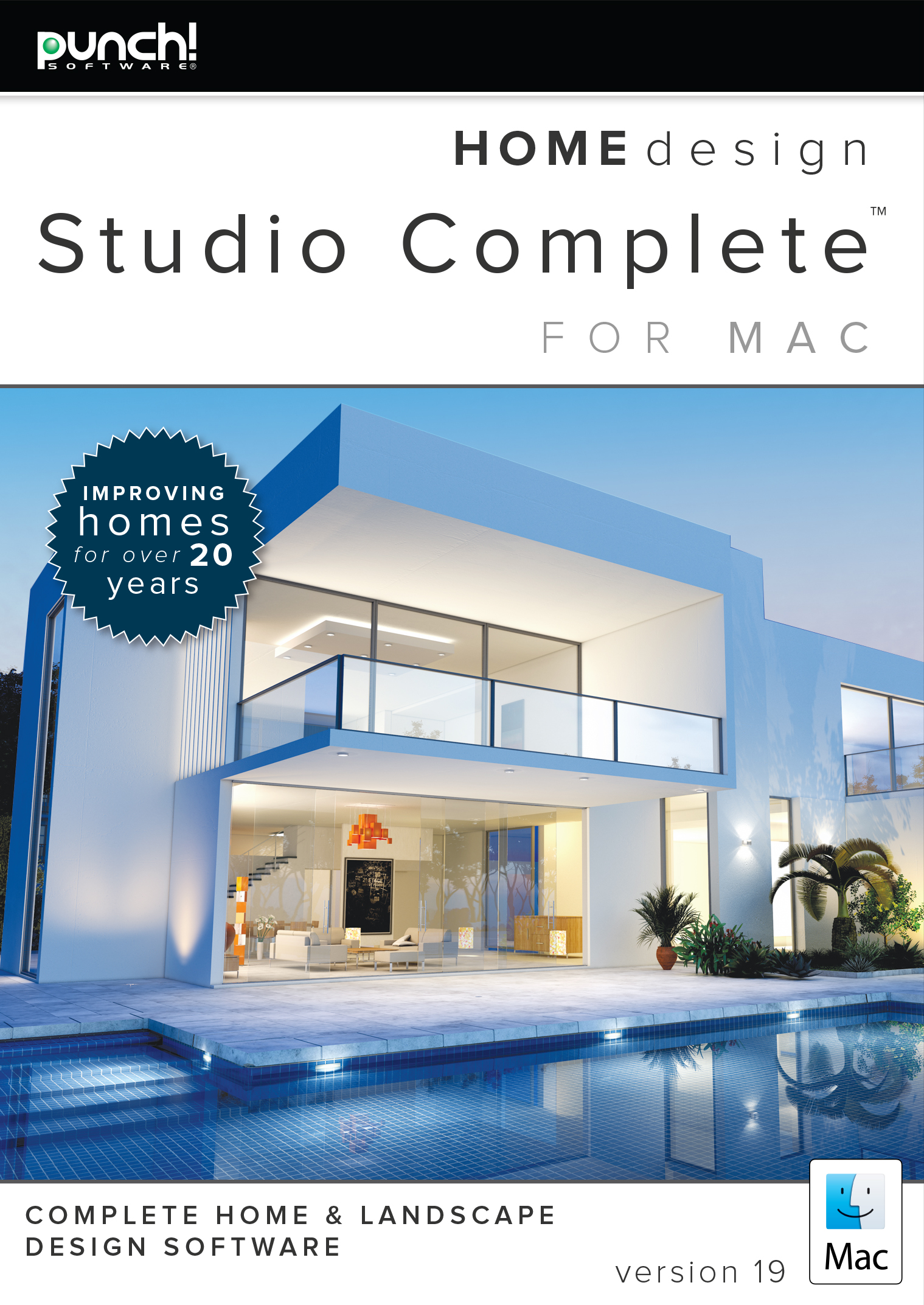Punch! Home Design Studio Complete for Mac v19 (Punch Design Software)